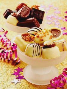 Valentine Serving - Chocholate and Ice Cream